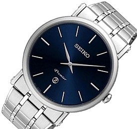 超歓迎 SEIKO/Premier【セイコー/プルミエ】メンズ腕時計 メタルベルト ネイビー文字盤 海外モデル【並行輸入品】SKP399P1, トヨオカムラ:121bb8d2 --- priunil.ru