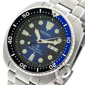 SEIKO/PROSPEX/200m diver's watch【セイコー/プロスペックス/200m防水ダイバーズ】自動巻 メンズ腕時計 メタルベルト ネイビー/ブルー文字盤 MADE IN JAPAN 海外モデル【並行輸入品】 SRPC25J1