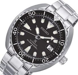 SEIKO/PROSPEX/200m diver's watch【セイコー/プロスペックス/200m防水ダイバーズ】自動巻 ブラックベゼル メンズ腕時計 メタルベルト ブラック文字盤 海外モデル【並行輸入品】 SRPC35K1