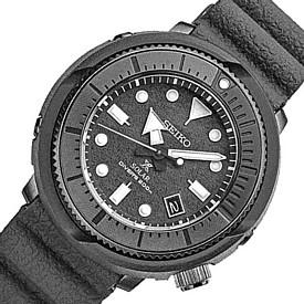 SEIKO/PROSPEX【セイコー/プロスペックス】メンズ DIVER'S/ダイバーズウォッチ ソーラー腕時計 グレーラバーベルト 海外モデル【並行輸入品】 SNE537P1