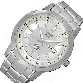 SEIKO/SEIKO5【セイコー5/セイコーファイブ】自動巻 メンズ腕時計 メタルベルト シャンパン文字盤SNKN51J1 海外モデル【並行輸入品】