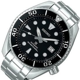 SEIKO/PROSPEX diver's watch【セイコー/プロスペックス/ダイバーズ】自動巻 メンズ腕時計 メタルベルト ブラック文字盤 MADE IN JAPAN 海外モデル【並行輸入品】SPB101J1