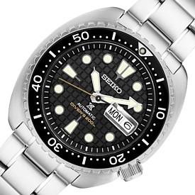 SEIKO/PROSPEX/200m diver's watch【セイコー/プロスペックス/200m防水ダイバーズ】自動巻 メンズ腕時計 メタルベルト ブラック文字盤 海外モデル【並行輸入品】 SRPE03K1