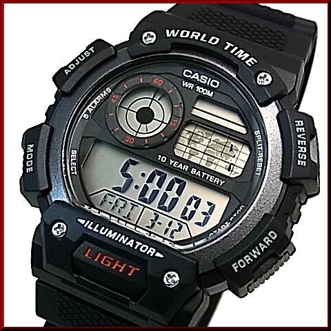 Casio World Map Watch.Bright Casio Standard Digital World Map Indication World Time Men S