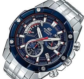 CASIO/EDIFICE【カシオ/エディフィス】レトログラード クロノグラフ メンズ腕時計 スクーデリア・トロ・ロッソ・リミテッドエディション メタルベルト 海外モデル【並行輸入品】 EFR-559TR-2A