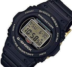 CASIO/G-SHOCK【カシオ/Gショック】35周年記念限定モデル メンズ腕時計 海外モデル【並行輸入品】DW-5735D-1B