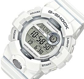 CASIO/G-SHOCK【カシオ/Gショック】G-SQUAD/ジー・スクワット ブルートゥース モバイルリンクモデル メンズ腕時計 ホワイト 海外モデル【並行輸入品】GBD-800-7
