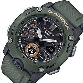 CASIO/G-SHOCK【カシオ/Gショック】カーボンコアガード構造 アナデジモデル メンズ腕時計 グリーン/グレー 海外モデル【並行輸入品】GA-2000-3A