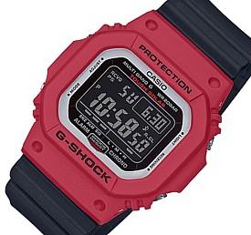 CASIO/G-SHOCK【カシオ/Gショック】ソーラー電波腕時計 ブラック/レッド(国内正規品)GW-M5610RB-4JF