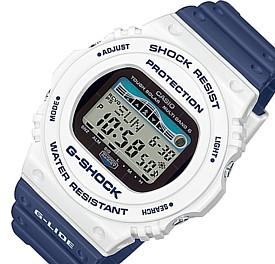 CASIO/G-SHOCK【カシオ/Gショック】G-LIDE/Gライド ソーラー電波腕時計 ホワイト/ネイビー(国内正規品)GWX-5700SS-7JF