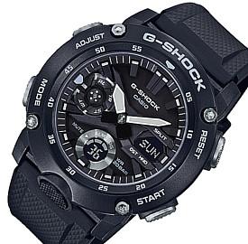 CASIO/G-SHOCK【カシオ/Gショック】カーボンコアガード構造 アナデジモデル メンズ腕時計 ブラック(国内正規品)GA-2000S-1AJF