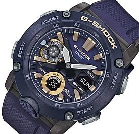 CASIO/G-SHOCK【カシオ/Gショック】カーボンコアガード構造 アナデジモデル メンズ腕時計 ネイビー/ブラウン 海外モデル【並行輸入品】GA-2000-2A
