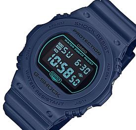 CASIO/G-SHOCK【カシオ/Gショック】ベーシックモデル メンズ腕時計 ネイビー(国内正規品)DW-5700BBM-2JF