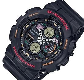 CASIO/G-SHOCK【カシオ/Gショック】アナデジコンビモデル メンズ腕時計 ブラック GA-140-1A4JF(国内正規品)