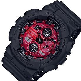 CASIO/G-SHOCK【カシオ/Gショック】アナデジコンビモデル メンズ腕時計 ブラック/レッド(国内正規品)GA-140AR-1AJF