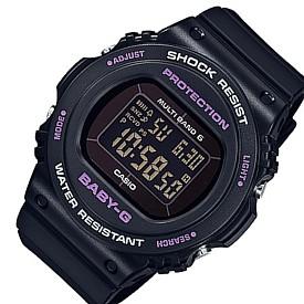 CASIO/Baby-G【カシオ/ベビーG】ソーラー電波腕時計 レディース ブラック(国内正規品)BGD-5700-1JF