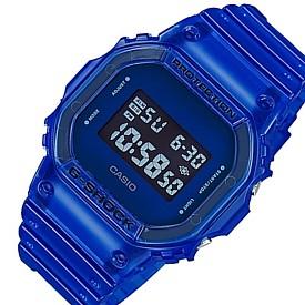 CASIO/G-SHOCK【カシオ/Gショック】メンズ腕時計 カラースケルトンシリーズ ブルースケルトン(国内正規品)DW-5600SB-2JF
