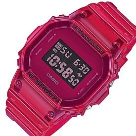 CASIO/G-SHOCK【カシオ/Gショック】メンズ腕時計 カラースケルトンシリーズ レッドスケルトン(国内正規品)DW-5600SB-4JF