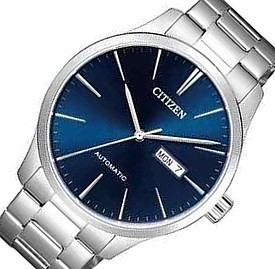 CITIZEN/Automatic【シチズン/オートマチック】自動巻 メンズ腕時計 ネイビー文字盤 メタルベルト 海外モデル【並行輸入品】NH8350-83L