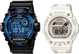 CASIO/G-SHOCK/Baby-G【カシオ/Gショック/ベビーG】ペアウォッチ 腕時計 ブラック/ホワイト 海外モデル【並行輸入品】 G-8900A-1/BLX-100-7