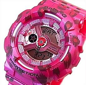 CASIO/Baby-G【カシオ/ベビーG】Leopard Series/レオパードシリーズ レディース腕時計 ピンク(国内正規品)BA-110LP-4AJF