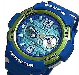 CASIO/Baby-G【カシオ/ベビーG】ビッグナンバーインデックス レディース腕時計 ネイビーブルー(国内正規品)BGA-210-2BJF