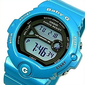 CASIO/Baby-G【カシオ/ベビーG】for running/フォー・ランニング レディース腕時計 ブルー(国内正規品)BG-6903-2JF
