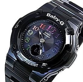 CASIO/Baby-G/Tripper【カシオ/ベビーG/トリッパー】ソーラー電波腕時計 レディース ブラック BGA-1110GR-1BJF(国内正規品)