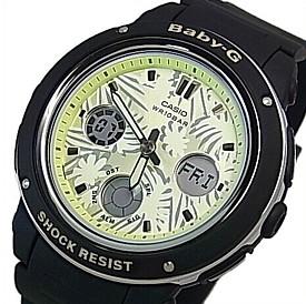 CASIO/Baby-G【カシオ/ベビーG】Flower Dial Series/フラワーダイヤルシリーズ レディース腕時計 ブラック/ライトイエロー(国内正規品)BGA-150F-1AJF