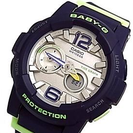 CASIO/BABY-G/G-LIDE【カシオ/ベビーG/Gライド】レディース腕時計 ネイビー 海外モデル【並行輸入品】 BGA-180-2B