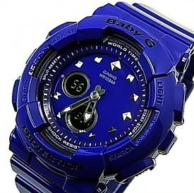 CASIO/Baby-G【カシオ/ベビーG】アナデジモデル レディース腕時計 ネイビー(国内正規品)BA-125-2AJF