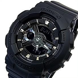 CASIO/Baby-G【カシオ/ベビーG】レディース腕時計 ブラック(国内正規品)BA-110GA-1AJF