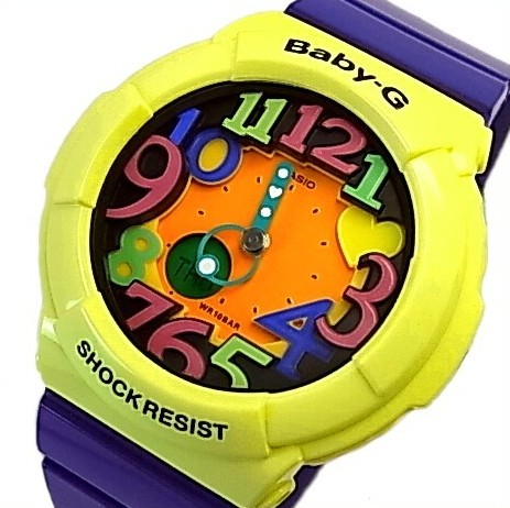 CASIO/Baby-G【カシオ/ベビーG】Crazy Neon Series/クレイジーネオンシリーズ レディース腕時計(国内正規品)BGA-131-9BJF