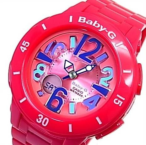 CASIO/Baby-G【カシオ/ベビーG】ネオンマリンシリーズ レディース腕時計 ピンク(国内正規品)BGA-171-4B1JF