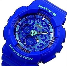 CASIO/Baby-G【カシオ/ベビーG】Leopard Series/レオパードシリーズ レディース腕時計 ネイビー 海外モデル【並行輸入品】BA-120LP-2A