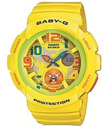 CASIO/Baby-G【カシオ/ベビーG】ビーチ・トラベラー・シリーズ レディース腕時計 イエロー 海外モデル【並行輸入品】 BGA-190-9B