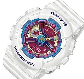 CASIO/Baby-G【カシオ/ベビーG】レディース腕時計 ホワイト 海外モデル【並行輸入品】 BA-112-7A