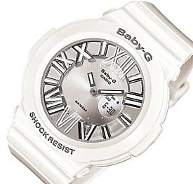 CASIO/Baby-G【カシオ/ベビーG】ネオンダイアルシリーズ レディース腕時計 ホワイト BGA-160-7B1 海外モデル【並行輸入品】