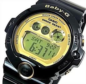 CASIO/Baby-G【カシオ/ベビーG】BG-6900シリーズ レディース腕時計 ブラック/ゴールド BG-6901-1 海外モデル【並行輸入品】