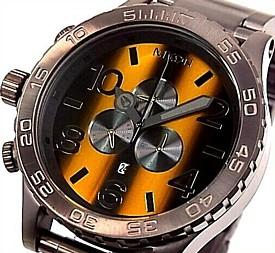 NIXON【ニクソン】THE 51-30 CHRONO メンズ腕時計 ダイバーズ タイガーアイ【送料無料】A0831073(国内正規品)