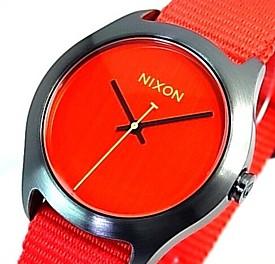 NIXON【ニクソン】MOD/モッド ボーイズ 腕時計 ブライトレッド【2014年SPRING 新作】【送料無料】A348-1600(国内正規品)