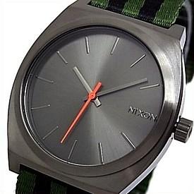 NIXON【ニクソン】TIME TELLER/タイムテラー ボーイズ 腕時計 サープラス/ブラック ナイロン【2012年SUMMER 新作】【送料無料】A045-1151(国内正規品)