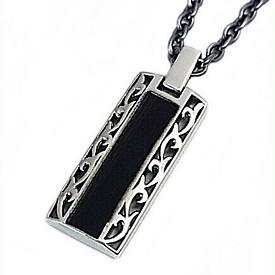NICOLE/Silver accessory【ニコル/シルバーアクセ】ブラックレザー/シルバートップネックレス【送料無料】NC-LE17(国内正規品)