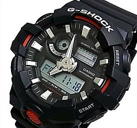 CASIO/G-SHOCK【カシオ/Gショック】アナデジモデル メンズ腕時計 ブラック 海外モデル【並行輸入品】 GA-700-1A