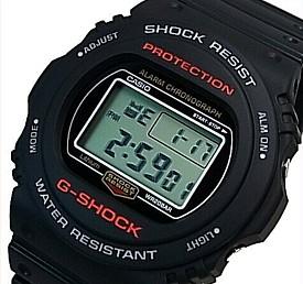 CASIO/G-SHOCK【カシオ/Gショック】ベーシックモデル メンズ腕時計 ブラック(国内正規品)DW-5750E-1JF