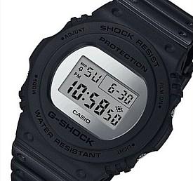 CASIO/G-SHOCK【カシオ/Gショック】Metallic Mirror Face/メタリック・ミラーフェイス ベーシックモデル メンズ腕時計 ブラック(国内正規品)DW-5700BBMA-1JF