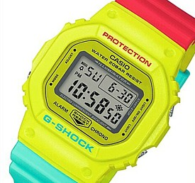 CASIO/G-SHOCK【カシオ/Gショック】メンズ腕時計 Breezy Rasta Color/ブリージー・ラスタカラー(国内正規品)DW-5600CMA-9JF