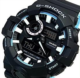 CASIO/G-SHOCK【カシオ/Gショック】アナデジ メンズ腕時計 ネオンアクセントカラー ブラック/ブルー(国内正規品)GA-700PC-1AJF