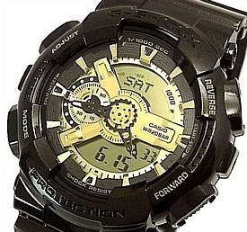 CASIO/G-SHOCK【カシオ/Gショック】Garish Gold Series/ガリッシュゴールドシリーズ メンズ腕時計 海外モデル【並行輸入品】 GA-110BR-5A
