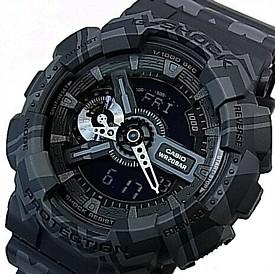 CASIO/G-SHOCK【カシオ/Gショック】BOHO STYLE アナデジ メンズ腕時計 ブラック(国内正規品)GA-110TP-1AJF